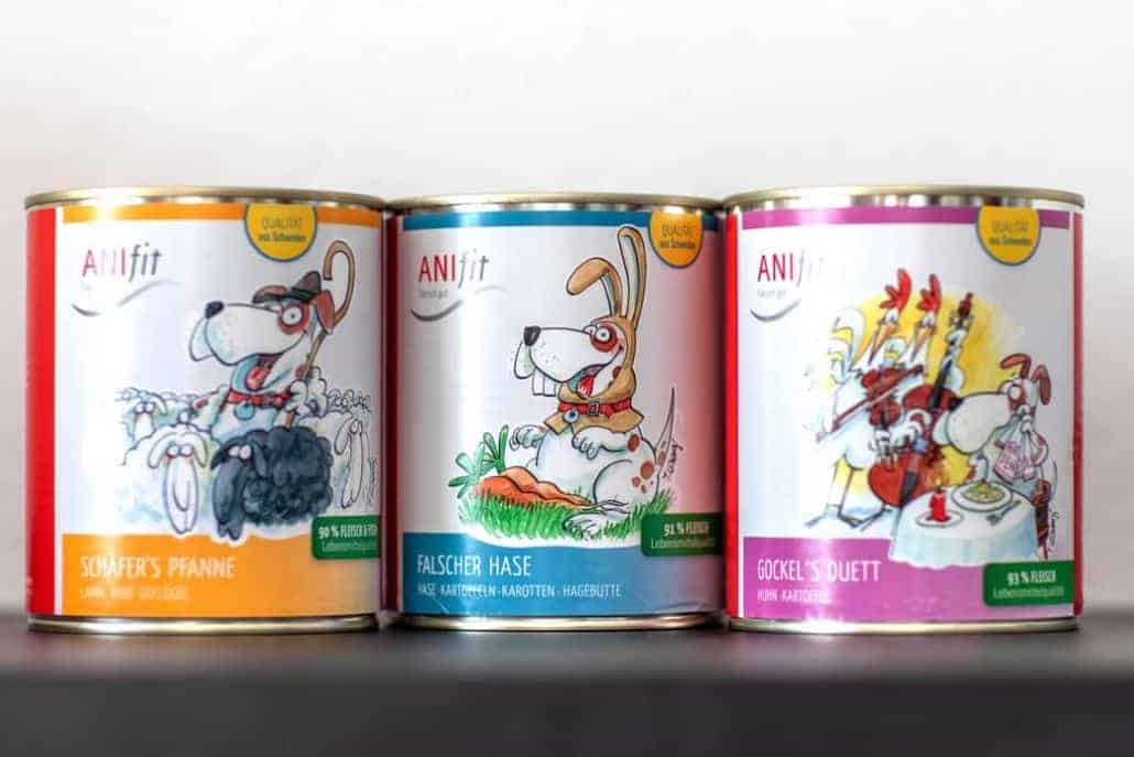 AniFit gegen Futtermilben Allergie beim Hund