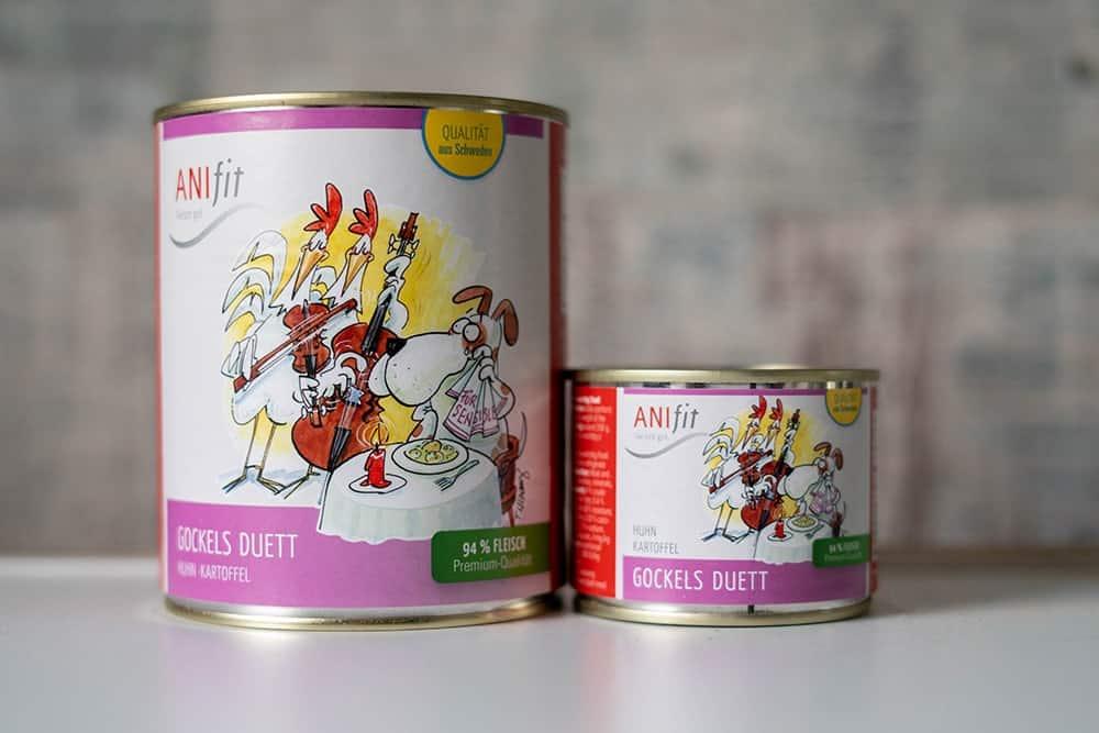 AniFit Gockel's Duett als Diätfutter für Hunde