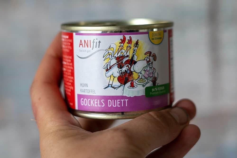 AniFit Gockel's Duett als hypoallergenes Futter