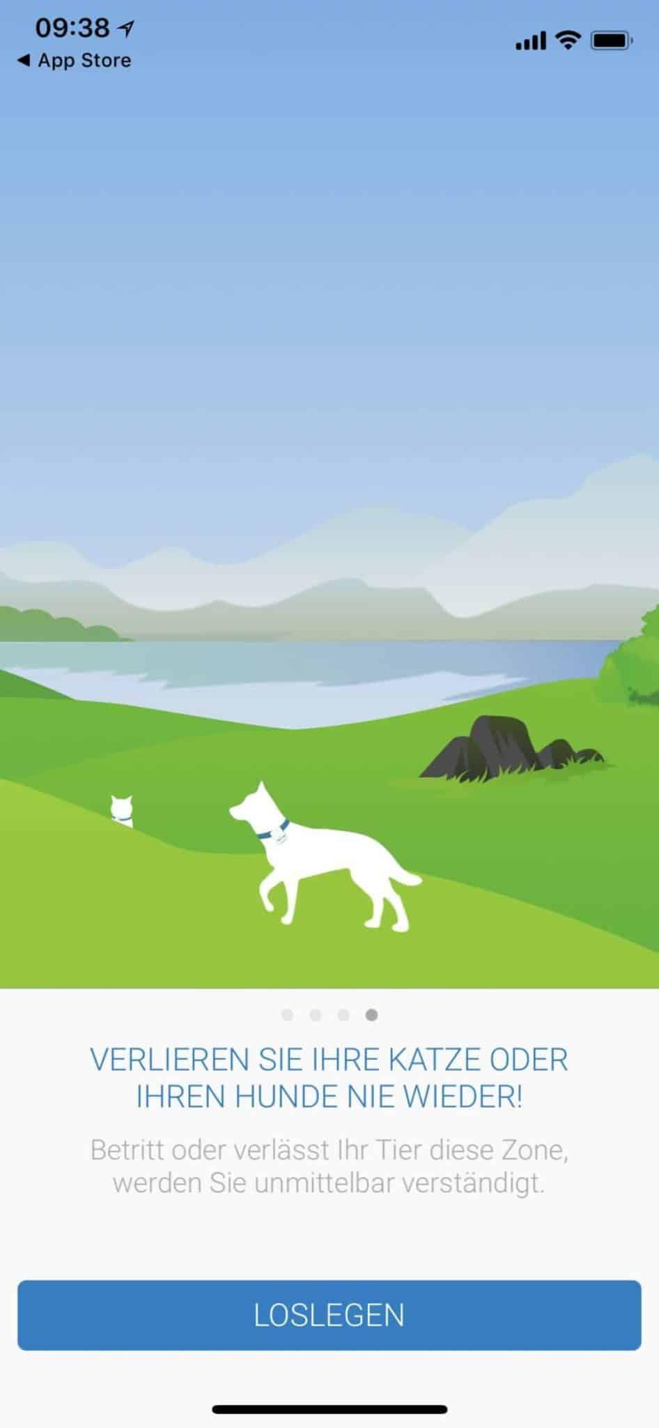 GPS für Hunde APP