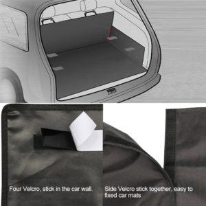 Kofferraumschutz mit Klettbefestigung